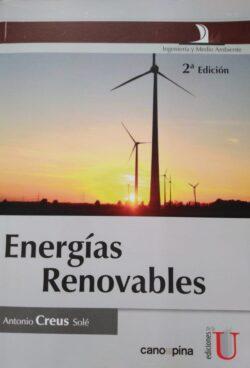 PORTADA DEL LIBRO ENERGÍAS RENOVABLES ISBN 9789587622065