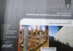 PORTADA DEL LIBRO MANUAL PRACTICO SUPERVISIÓN DE ESTRUCTURAS DE CONCRETO ISBN 9789588564142