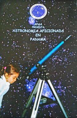 PORTADA DEL LIBRO ASTRONOMÍA AFICIONADA EN PANAMÁ ISBN 9789962050919