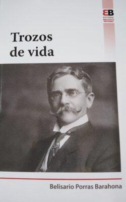 PORTADA DEL LIBRO TROZOS DE VIDA ISBN 9789962712084